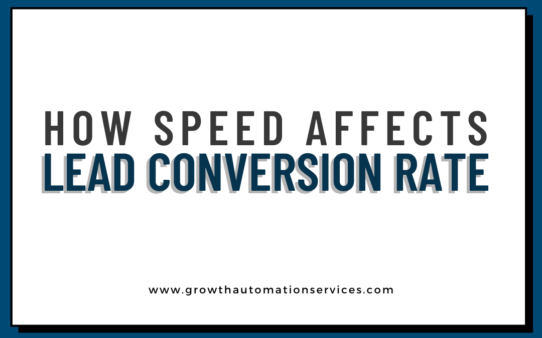 How Speed Affects Lead Conversion Rate